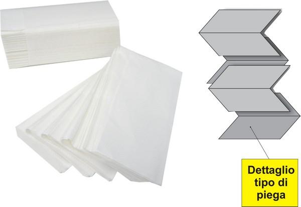Asciugamani Piegati In Carta Interfogliati Monouso