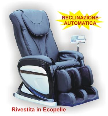 Poltrone Massaggianti Relax.Poltrona Relax Elettrica Con Massaggio Shiatsu Modello